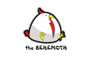 The behemoth Logo (A cartoon Chicken)