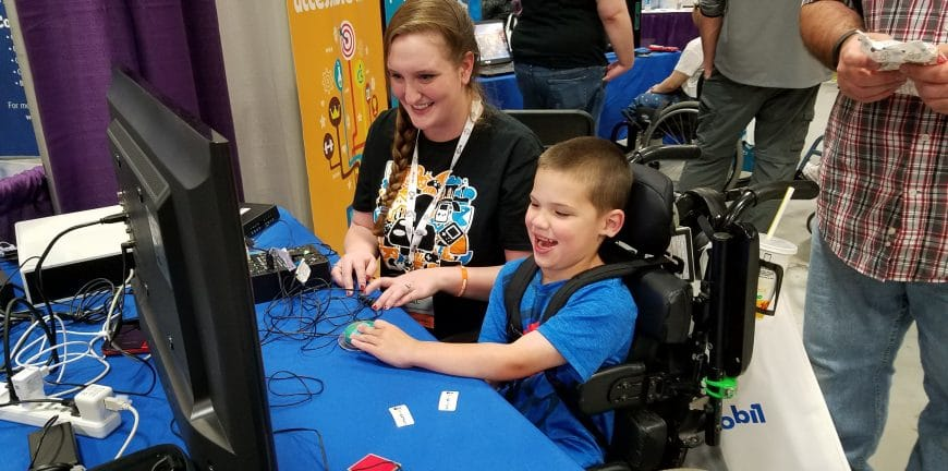 In AbleGamers on to helping a small disabled child