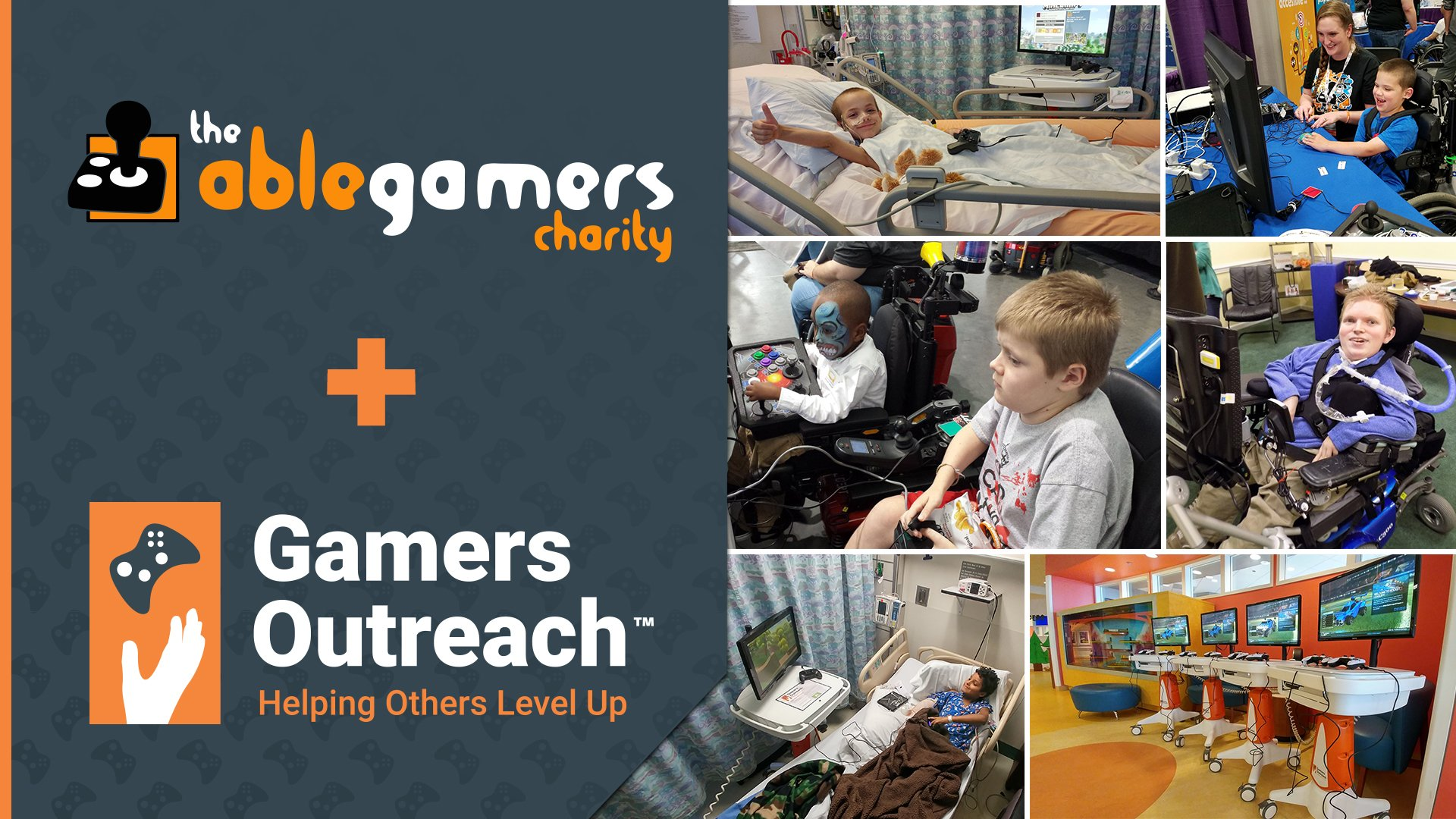 AbleGamers and gamers outreach banner