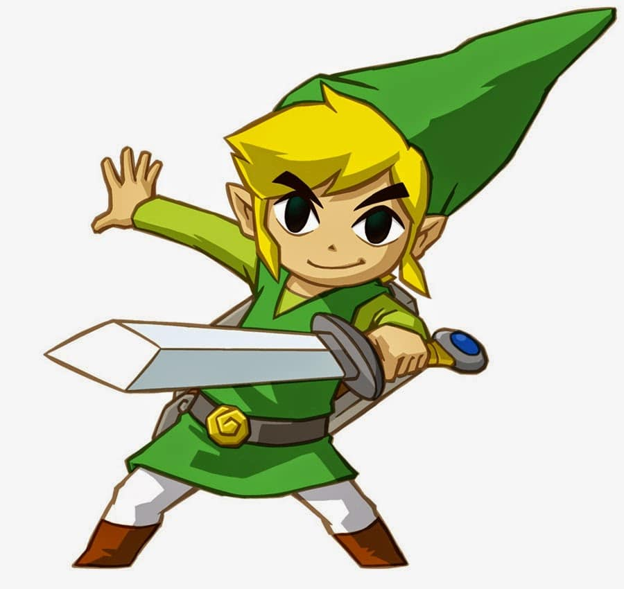An image of Toon Link from the Legend of Zelda Series